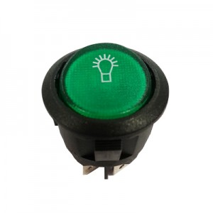 Rocker Green Switch