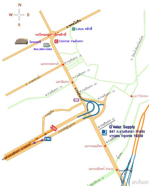 Map Shop Ramintra